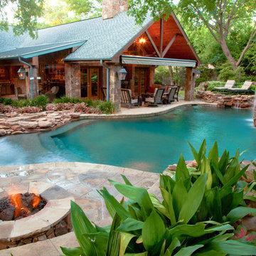 Dallas Natural Freeform Oasis