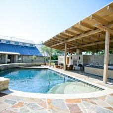 Contemporary Pool by TEN55 DESIGN
