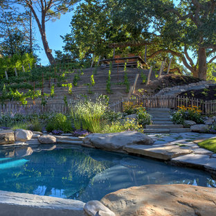 Inspiration for a country pool in San Francisco.