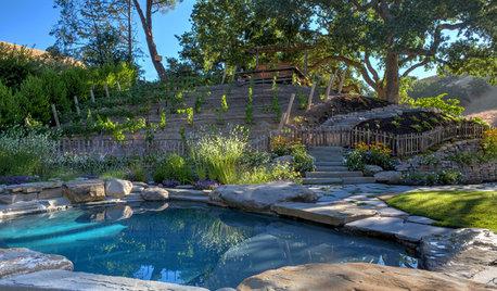 Natural Boulders Enhance 4 Standout Landscape Designs