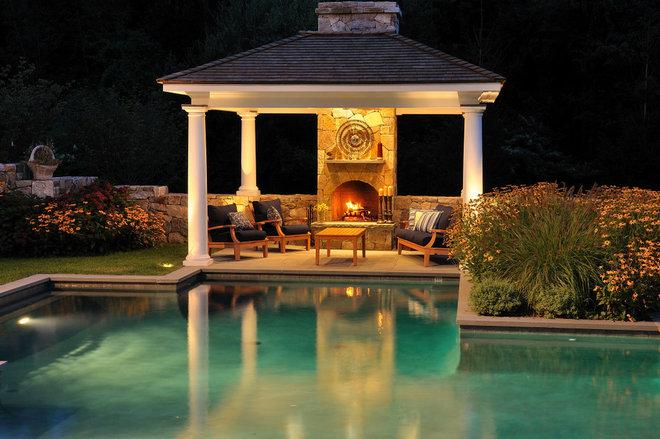 Traditional Pool by J. Brandon Jones