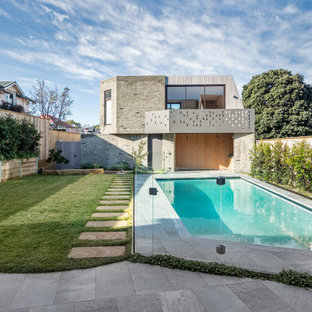 Design ideas for a contemporary pool in Sydney.