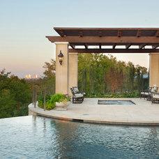 Mediterranean Pool by David Lewis Builder