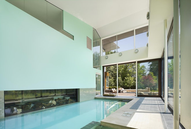 Modern Pool by Abramson Teiger Architects