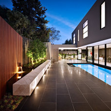 Contemporary Pool by DDB Design Development & Building