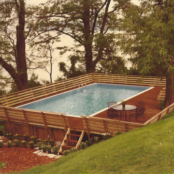 Deck-able Pool Stands