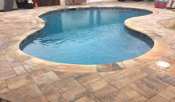 Deck Removal, Flagstone Coping, Waterline Tile, Cement Pavers, Pool Resurface
