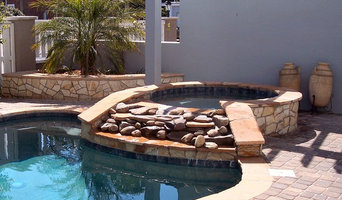 Decorative Stones Complete the Spa