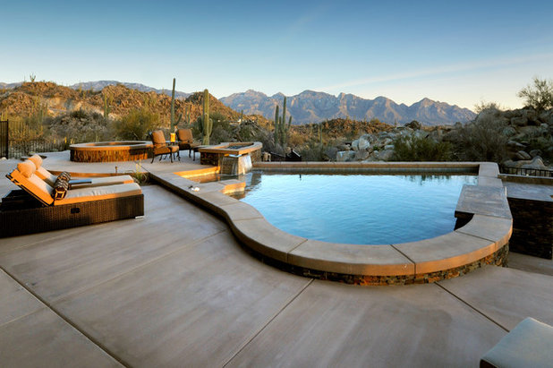 Southwestern Pool by Soloway Designs Inc | Architecture + Interiors AIA