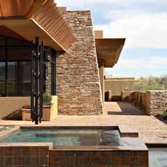 contemporary pool by PHX Architecture