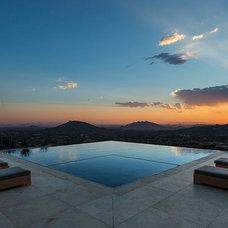 Mediterranean Pool by ArchitecTor, PC