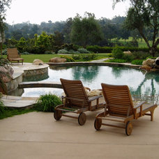 Mediterranean Pool by The Design Build Company