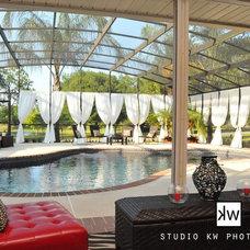 Traditional Pool by Ann Noelle Neumann