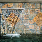 Pool Amp Spa Waterfall Design And Installation Bergen County