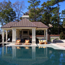 Traditional Pool by Tab Premium Built Homes