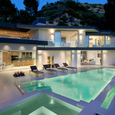 Modern Pool by Bowery Design Group