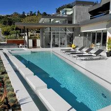 Modern Pool by Jay Vanos Architects