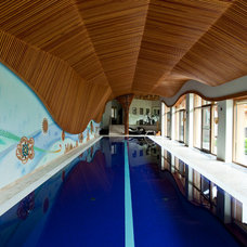 """Eclectic Pool by """"SAVAS"""" Sergey Savanets's architectural studio"""