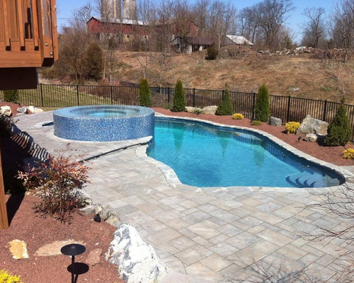 Country pool design ideas renovations photos for Country pool ideas
