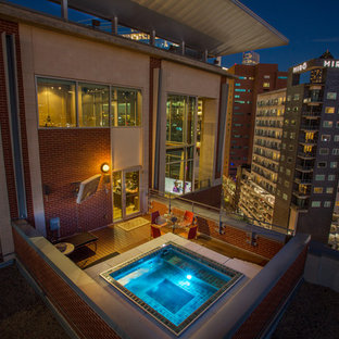 Downtown Dallas High-Rise Rooftop Patio