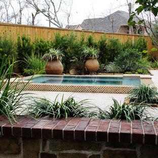 Pool - mediterranean pool idea in Houston