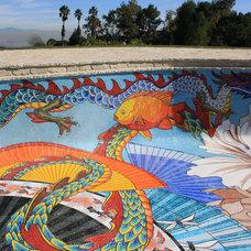Asian Pool by Vita Nova Mosaic, Inc.