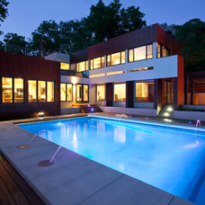 Modern Pool by Faust Construction