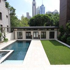 Contemporary Pool by Rosebrook Pools, Inc.
