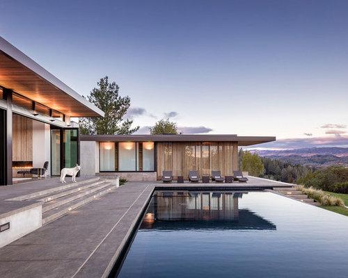 Contemporary Pool Design Ideas, Remodels & Photos