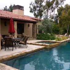 Mediterranean Pool by Lisa Hallett Taylor
