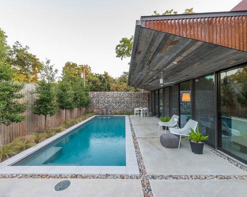 Foto e idee per piscine piccola piscina monocorsia - Piccola piscina ...