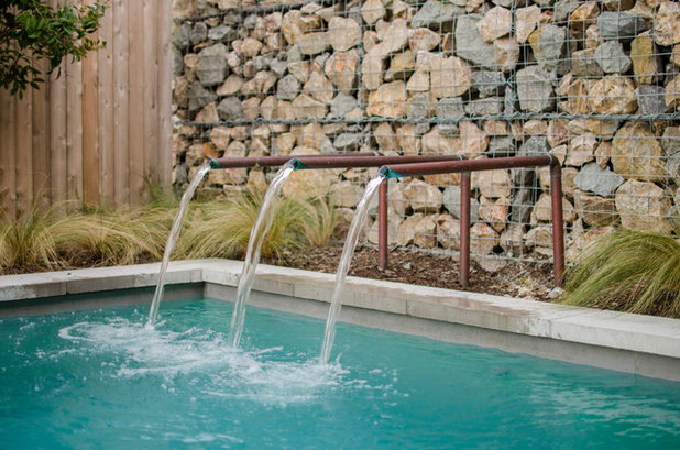 Industrial Pool by AquaTerra Outdoors