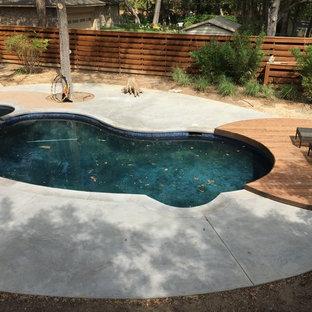 East Dallas, TX - Modern Pool & Patio Remodel