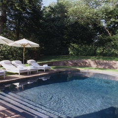 contemporary pool by Thom Filicia Inc.