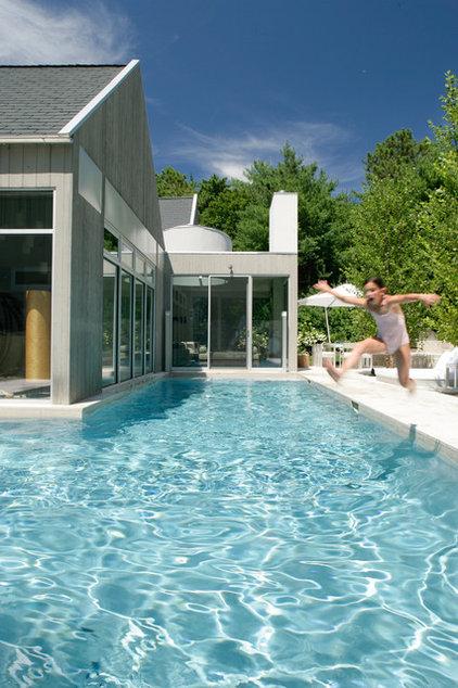 farmhouse pool by Betty Wasserman