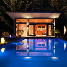 Modern Pool by Flavin Architects