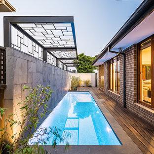 Kleiner Pool Neben Dem Haus Ideen Design Bilder Houzz