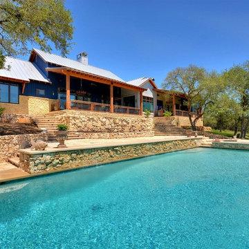 Eclectic Farmhouse by John Siemering Homes Austin TX