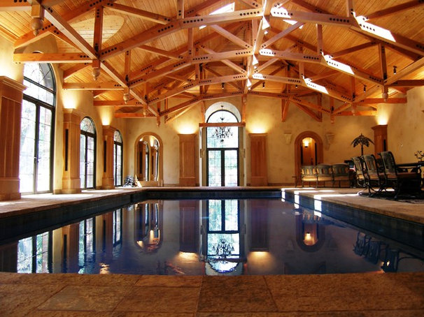 Eclectic Pool by Division One Construction