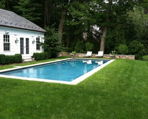 Best simple pool design ideas remodel pictures houzz for Simple backyard pools