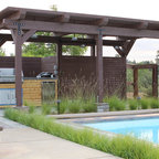 Ty Towriss Pool And Pavilion Contemporary Pool