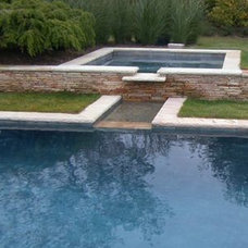 Contemporary Pool by Edward I. Mills & Associates, Architects PC