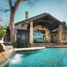 Traditional Pool by Olson Defendorf Custom Homes