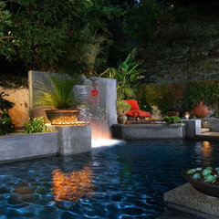 contemporary pool by Matthew McKelligon Design
