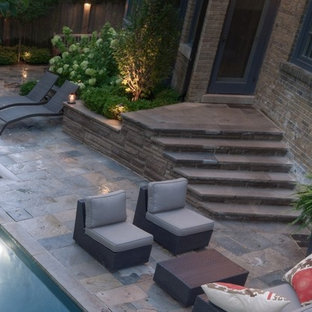 Elegance of Simplicity in a Small Backyard