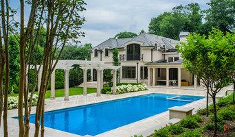 Elegant and Classic Pool with Pergola