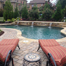Craftsman Pool by Aqua Design Pools & Spas, LLC