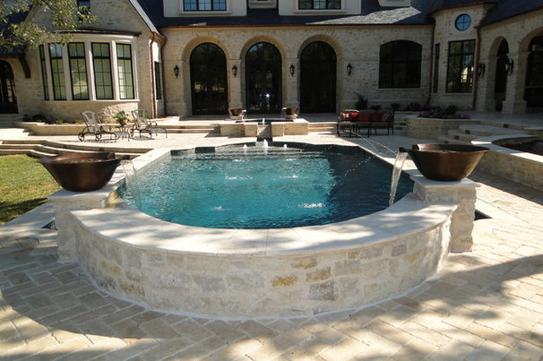 Traditional Pool by Watercrest Pools and Outdoor Living