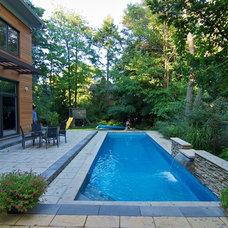 Modern Pool by George Opreff PhotoWorks