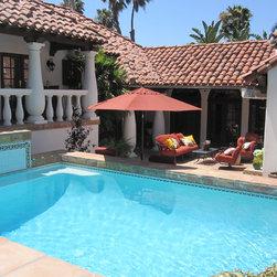 Elite Environments Pool - Mexican Talavera Pool Tile